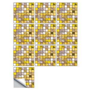 Koupelnové samolepky - mozaiky na kachličky