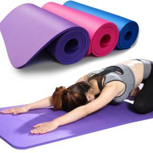 Protiskluzová pěnová podložka na jógu a jiná cvičení