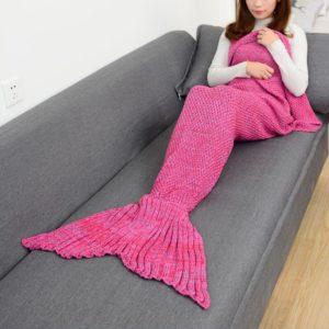 Deka ve tvaru mořské panny