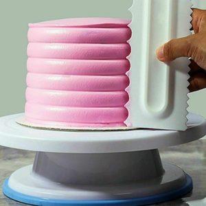 Cukrářské špachtle na dort