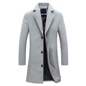 Pánský trendy polodlouhý kabát Perrie