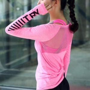 Sportovní triko Ariya s dlouhým rukávem