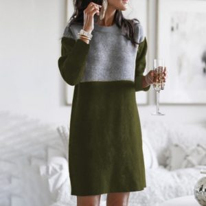 Dámské moderní svetrové šaty Mila-Rose