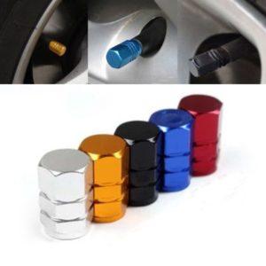 Set barevných čepiček na ventilky