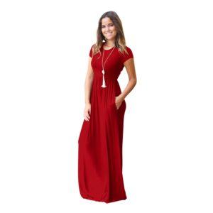 Dámské maxi dlouhé šaty Violet