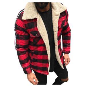 Pánská zimní bunda ve stylu košile Hollis 2