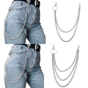 Módní řetěz na kalhoty