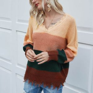 Dámský moderní ležérní svetr Vanessa
