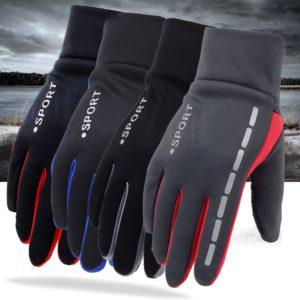 Pánské sportovní nepromokavé rukavice