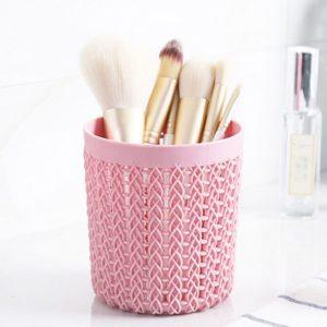 Plastový organizér na tužky, kosmetiku či štětce