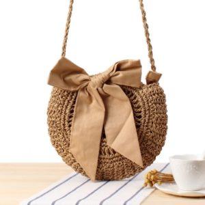 Ručně pletená ratanová taška přes rameno - na výběr z mnoha druhů