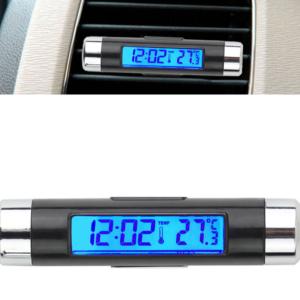 Malé LCD přenosné hodiny
