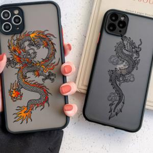 Luxusní zadní kryt pro iPhone - Dragon