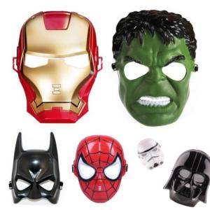 Halloweenská maska pro dospělé Superhrdinové