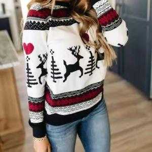 Dámský luxusní vánoční svetr Monica