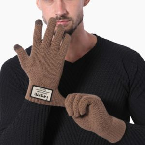 Pánské zimní rukavice na dotykový displej