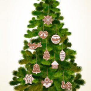 Vánoční ozdoby na stromeček Medovníčky