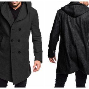 Winter New Trench Coat Men Autumn Blends Jackets Coat Men Fashion Overcoats Woolen Trench Coat Homme Men's Streetwears