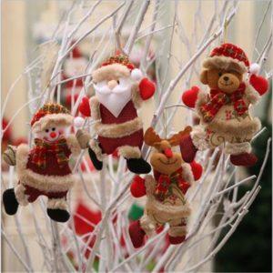 Roztomilé malé vánoční ozdoby Bryan