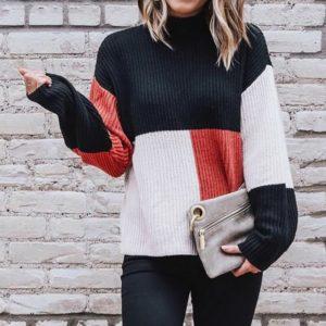 Dámský stylový podzimní svetr Macey