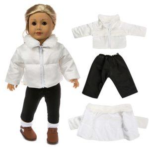 Stylové zimní oblečení pro panenku