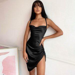 Dámské luxusní sexy společenské šaty Sia