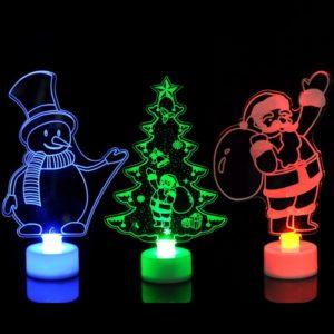 Vánoční LED dekorace Santa