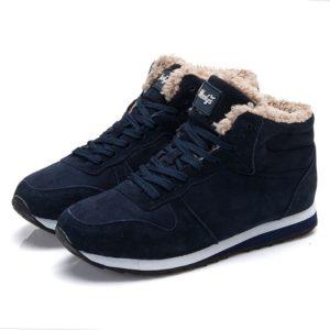 Pánské stylové zimní kotníkové boty