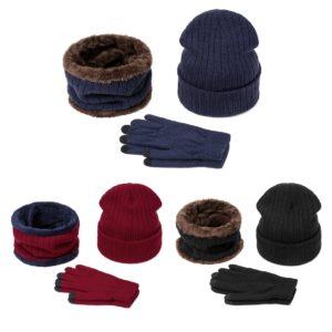 Pánský zimní set čepice, nákrčník a rukavice