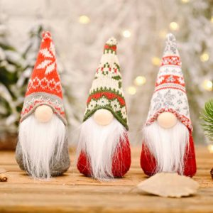 Vánoční dekorativní skřítek