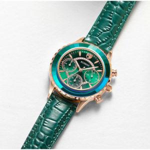 Dámské hodinky s koženým páskem Ruimas