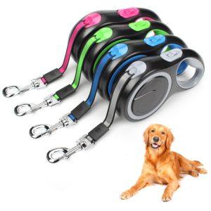 Automatické dlouhé vodítko pro psy