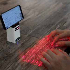Virtuální Bluetooth bezdrátový laserový projektor klávesnice