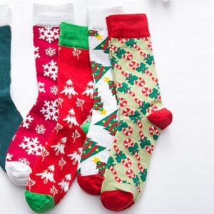 Dámské ponožky se zimními motivy