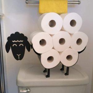 Dekorativní stojan na toaletní papír