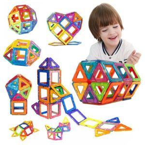 Kouzelná dětská magnetická stavebnice