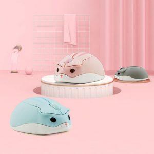 Roztomilá bezdrátová myš v podobě křečka