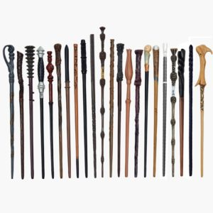 Úžasná dřevěná magická hůlka Harry Potter