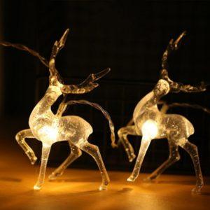 Vánoční LED sob