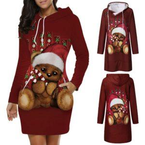 Dámské vánoční mikinové šaty Paige