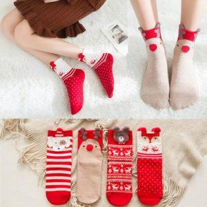 Vtipné vánoční ponožky
