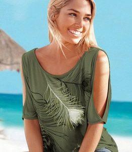 Dámské pohodlné letní triko Gizel