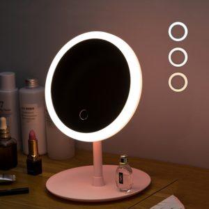 Kosmetické zrcátko s LED osvětlením