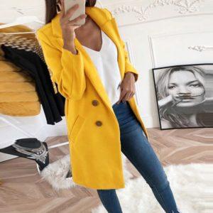 Dámský luxusní kabát Anna