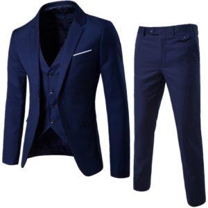 Pánský módní set   Sako + vesta + kalhoty