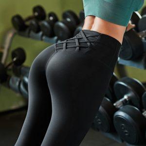 Dámské pohodlné fitness legíny