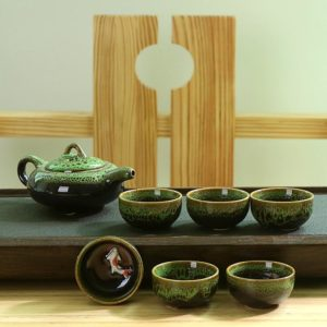 Porcelánová čajová sada