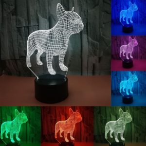 Buldoček 3D lampa