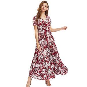 Dámské letní dlouhé šaty Hanna