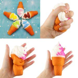 Antistresová hračka ve tvaru zmrzliny